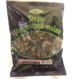 Подосиновики сушенные 100 гр. (полиэтиленовый пакет)